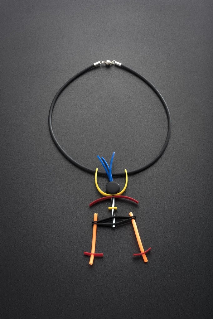 MULTI COLOUR PUPPET NECKLACE Image